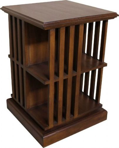 Rotating Mahogany Bookcase
